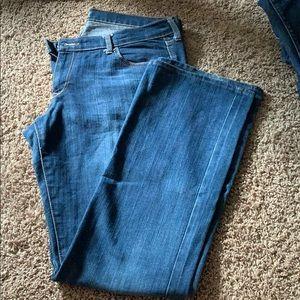 Bootcut jeans medium wash 14 Long